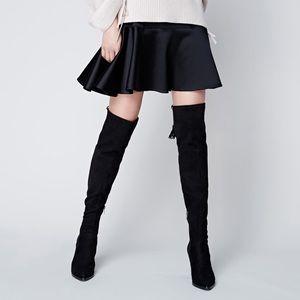 Marc Fisher OTK Alinda Boots in Black